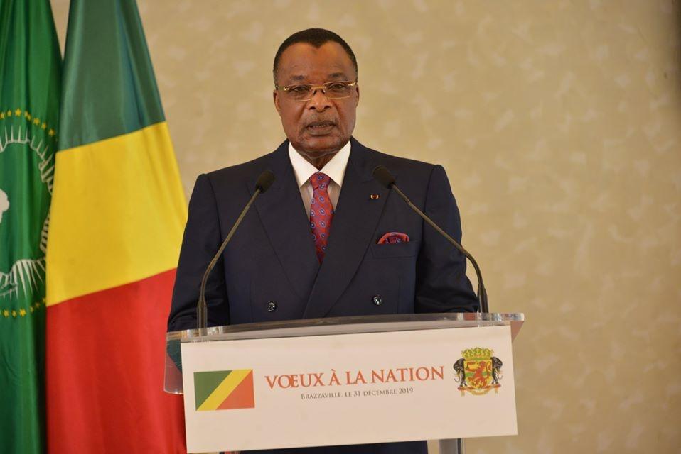 Denis Sassou N'Guesso et son message de vœux.