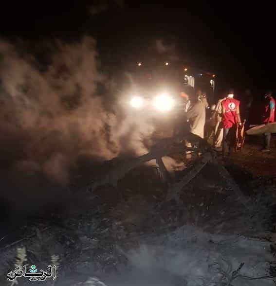 Soudan : crash d'un avion militaire à El Geneina, tous les passagers tués. © DR