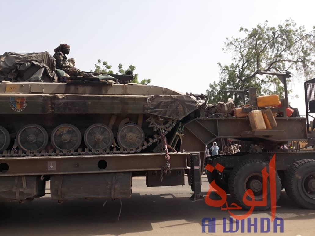 Nigeria : panique et fuite de civils après le départ de l'armée tchadienne. © Alwihda Info/Djimet Wiche