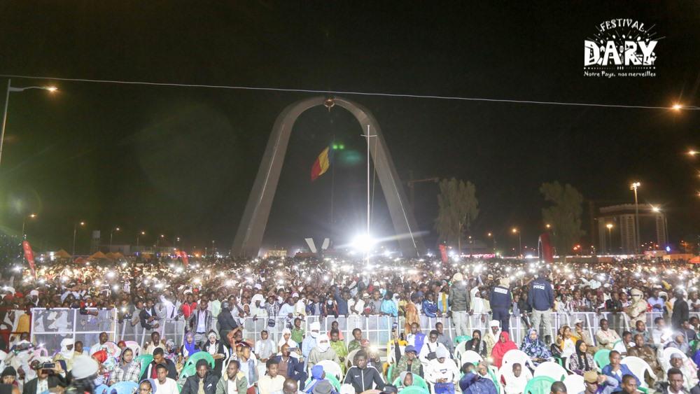Tchad : Idriss Déby s'invite à la clôture du Festival Dary et appelle au brassage. © DR/Festival Dary