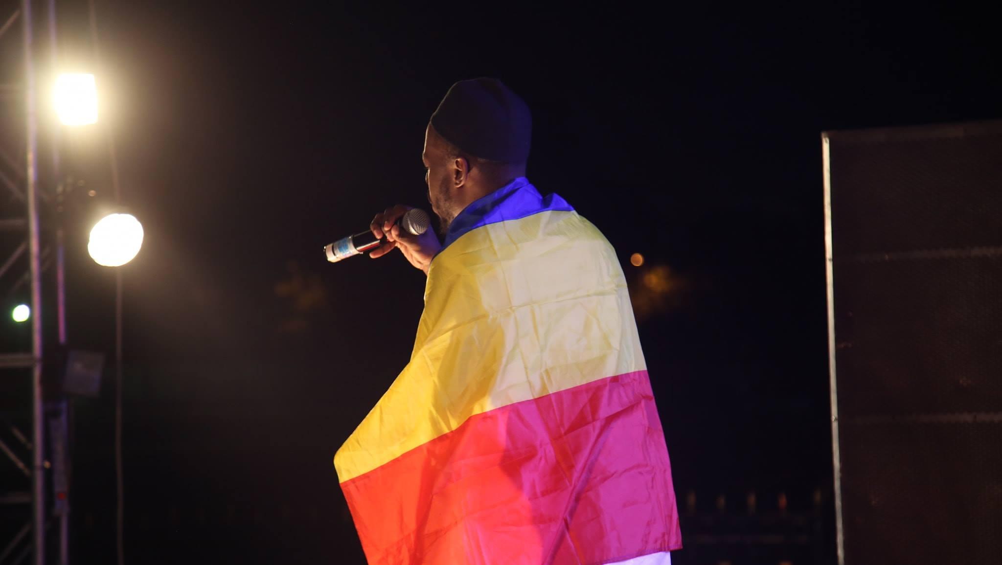 """Tchad : Déby en guerre contre les clivages, """"il n'y a pas un tchadien chrétien ou musulman"""". © DR/Festival Dary"""
