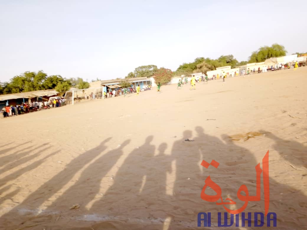 Tchad : le championnat provincial de football draine la foule à Goz Beida. ©Alwihda Info/Mahamat Issa Gadaya