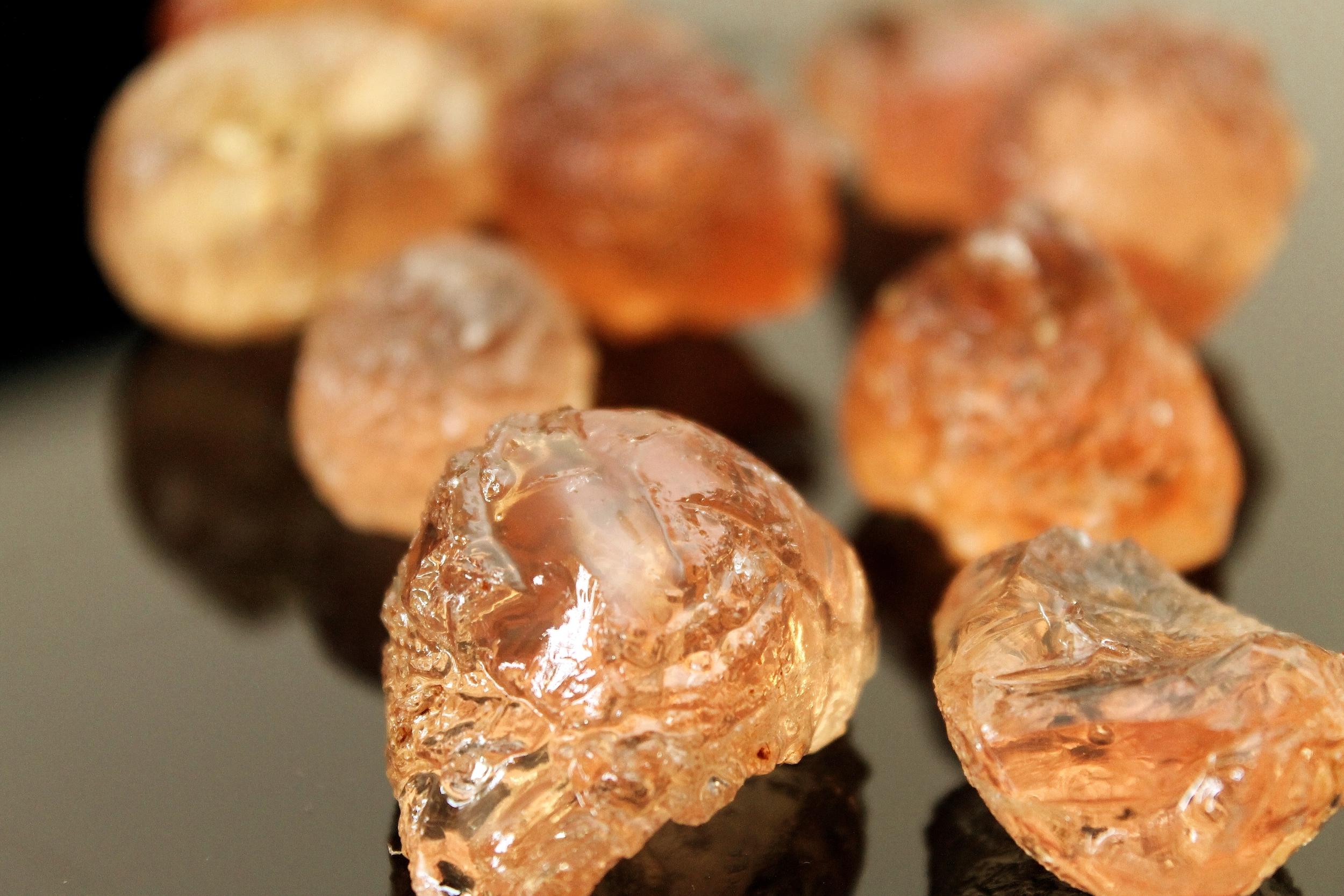 La gomme arabique. © DR/Tarig A. Eltom