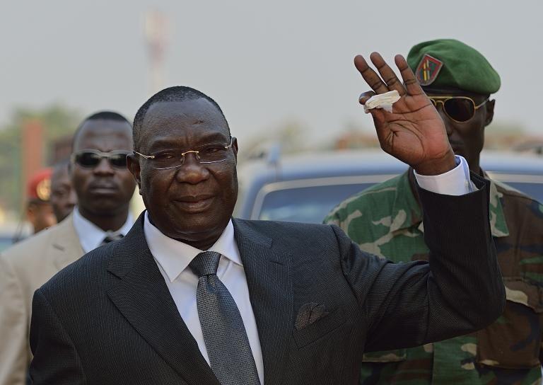 L'ex-Président de la Transition centrafricaine, Michel Djotodia. © Eric Feferberg/AFP