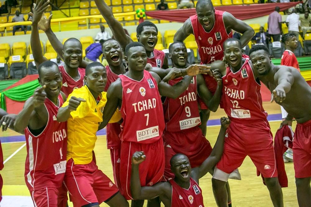 Des joueurs de l'équipe de basketball du Tchad lors de l'AfroCan 2019. Illustration. ©DR