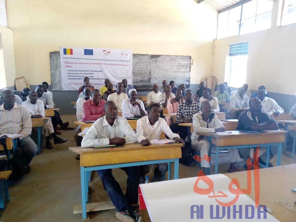 Formation des enseignants à Goz Beida, le 14 janvier 2020. © Mahamat Issa Gadaya/Alwihda Info