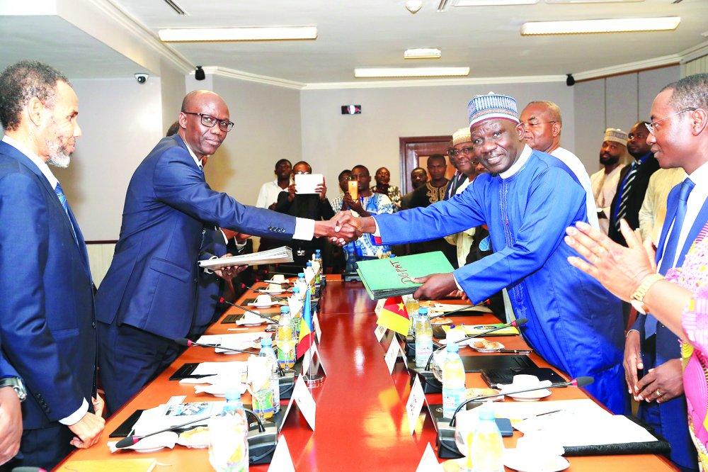 Le Tchad et le Cameroun font le point sur leurs projets communs d'intégration. © DR/Cameroon-Tribune