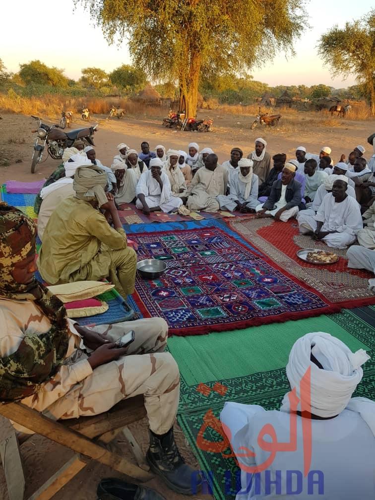 Tchad : la sensibilisation sur la cohabitation se poursuit au Sila. ©Mahamat Issa Gadaya/Alwihda Info