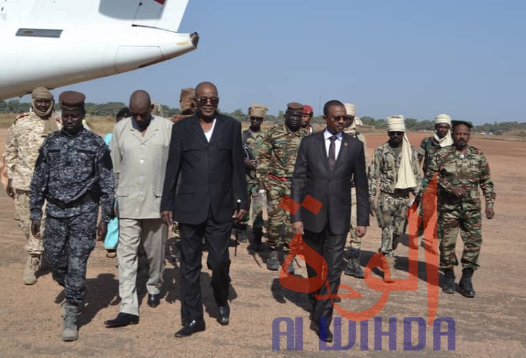 Tchad : le ministre de l'Eau à Sarh pour l'inauguration d'un forage d'eau. © Alwihda Info/Adam Yaya Bineya