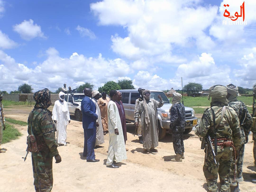 Tchad : le gouverneur de Sila boucle une tournée pour la fin de l'état d'urgence. © Alwihda Info/Mahamat Issa Gadaya