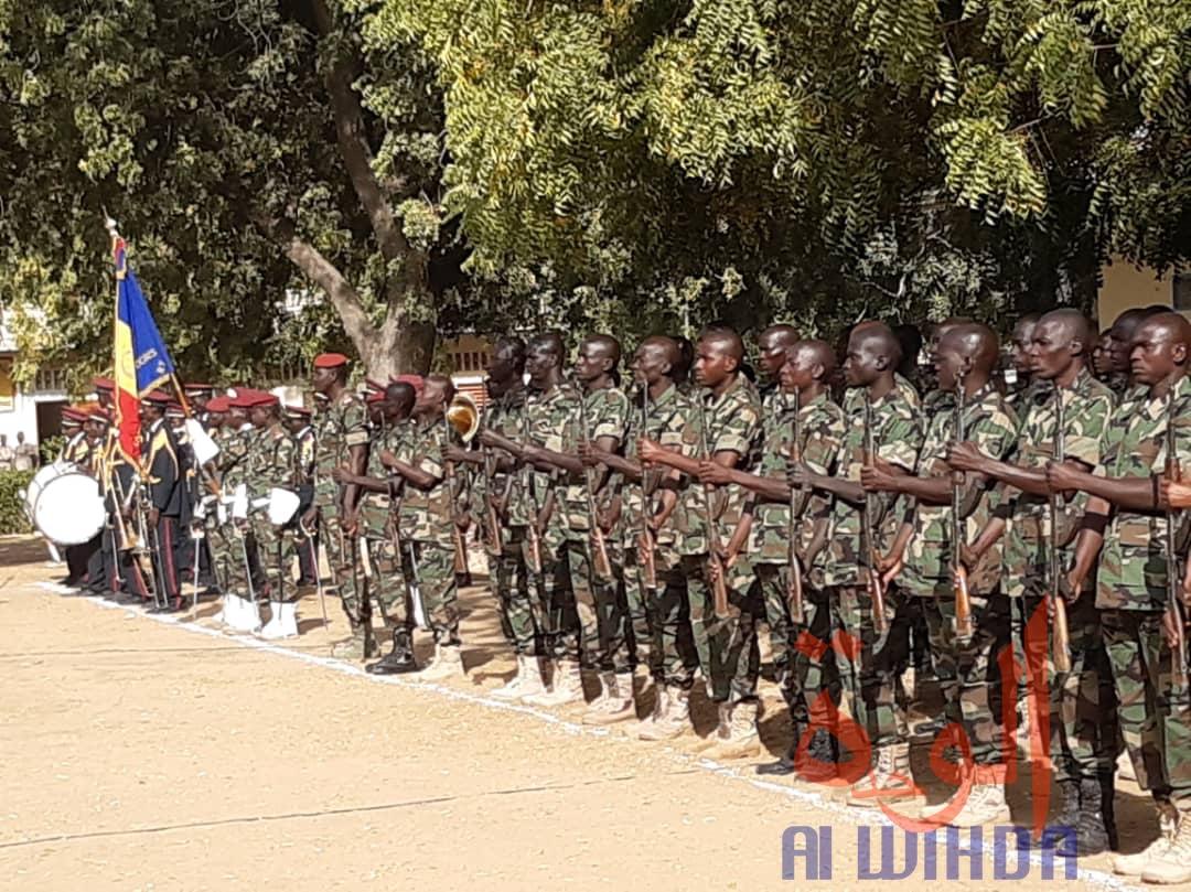 Tchad : fin de formation pour 98 élèves officiers et sous-officiers du corps de santé des armées. © Mahamat Abdramane Ali Kitire/Alwihda Info