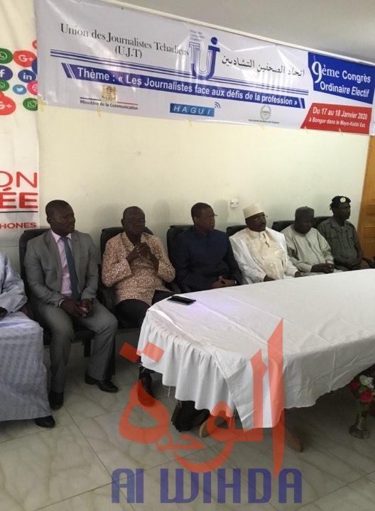 Tchad : le 9ème Congrès de l'UJT lancé à Bongor. © Alwihda Info/DJimet Wiche