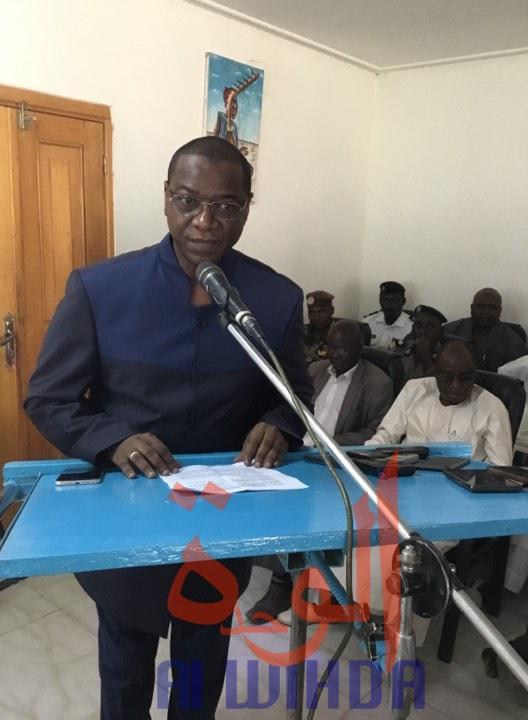 Le ministre de la Communication et porte-parole du gouvernement, Oumar Yaya Hissein. ©Alwihda Info/Djimet Wiche