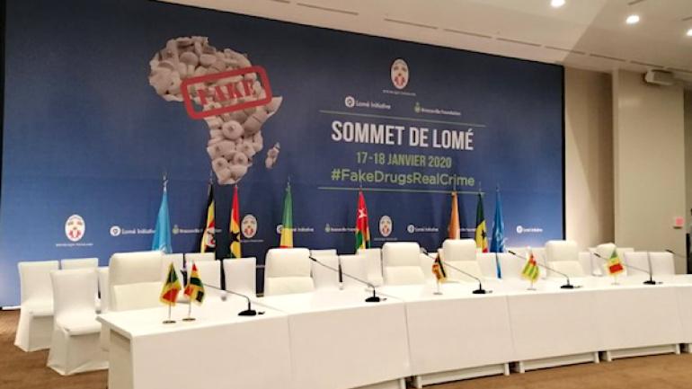 Sommet de Lomé sur le trafic de faux médicaments : d'éminentes personnalités au Togo. ©RT
