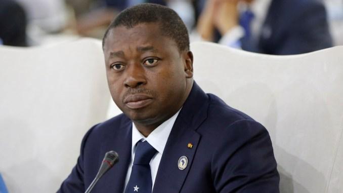 Le président togolais sortant Gnassingbé Faure Essozimna. © DR