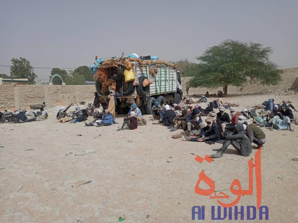 Tchad : 106 orpailleurs clandestins arrêtés au Borkou. © Abdoulaye Akim/Alwihda Info