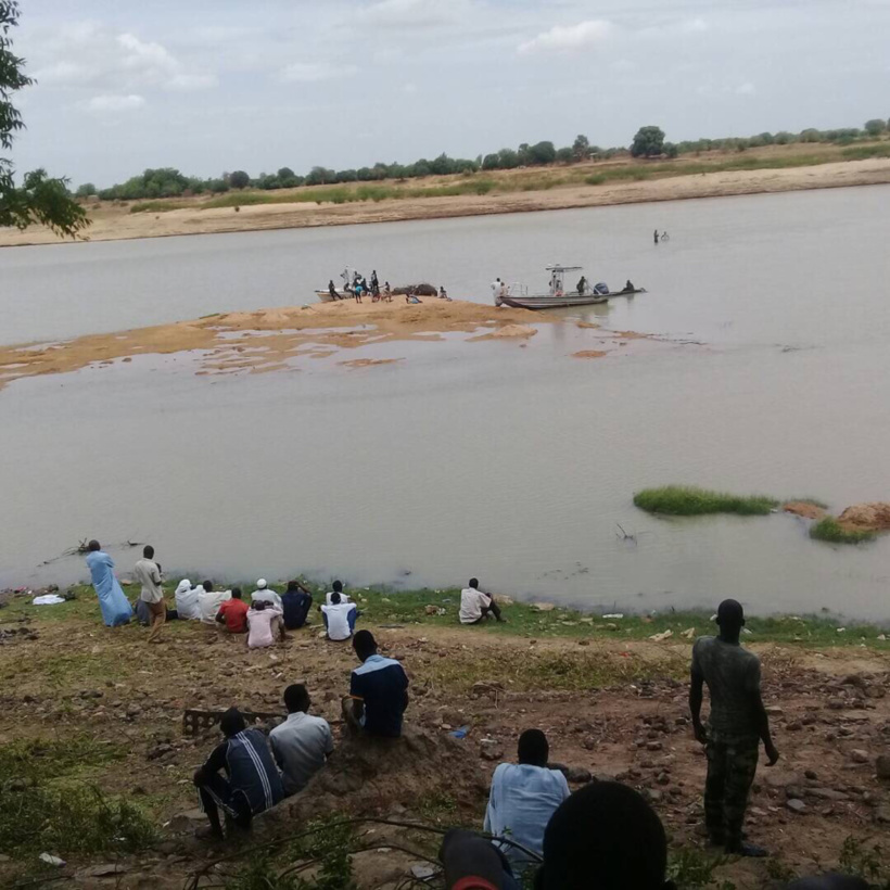 Les rives du fleuve Chari à N'Djamena. Illustration. © Alwihda Info
