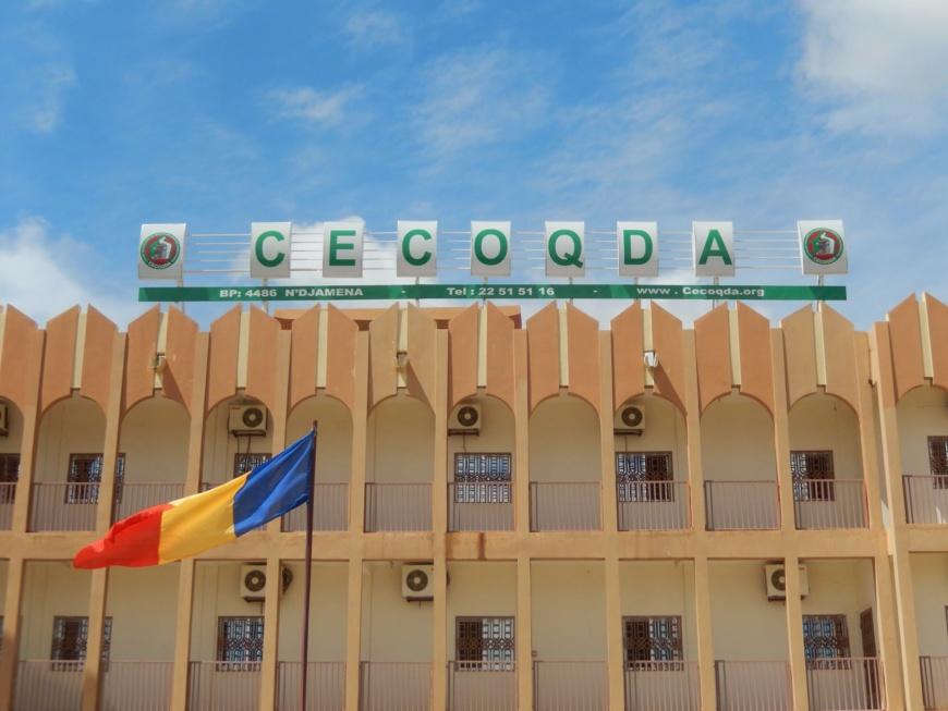 Le siège du CECOQDA à N'Djamena. © DR/CECOQDA