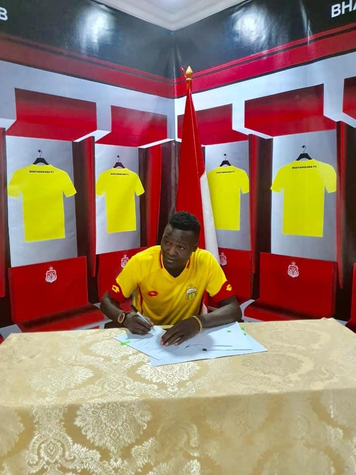 Football : le tchadien Ngar Ezéchiel change de club. © DR