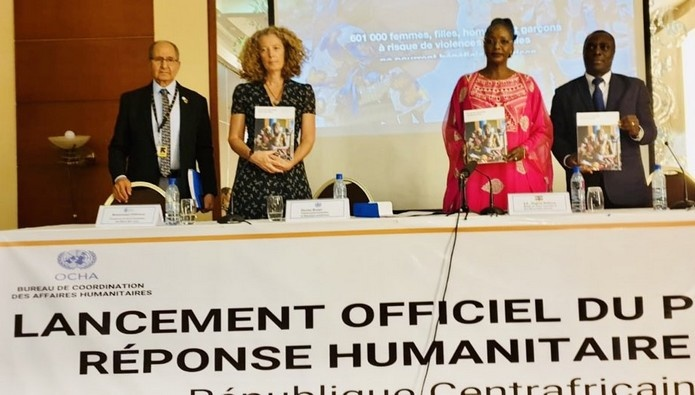 CAR: Officially Launch Of The 2020 Humanitarian Response Plan (HRP) Aimed To Get US$ 401 Million