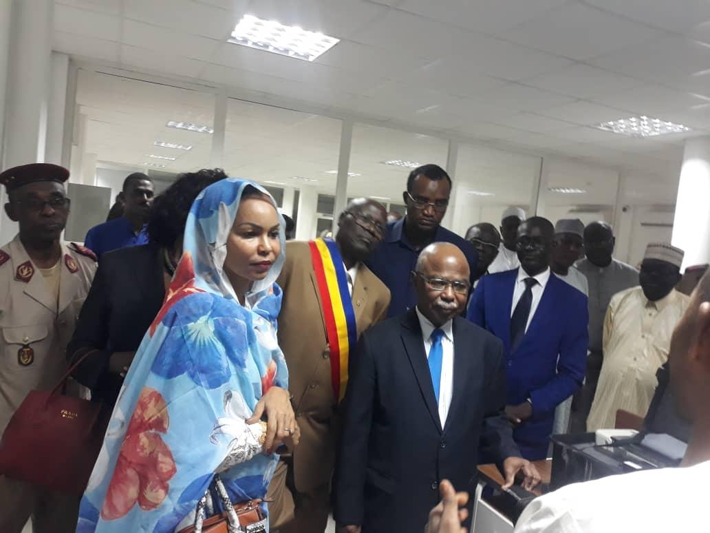 Tchad : un grand pas vers la sécurisation des données et la déconcentration. © Djimet Wiche/Alwihda Info