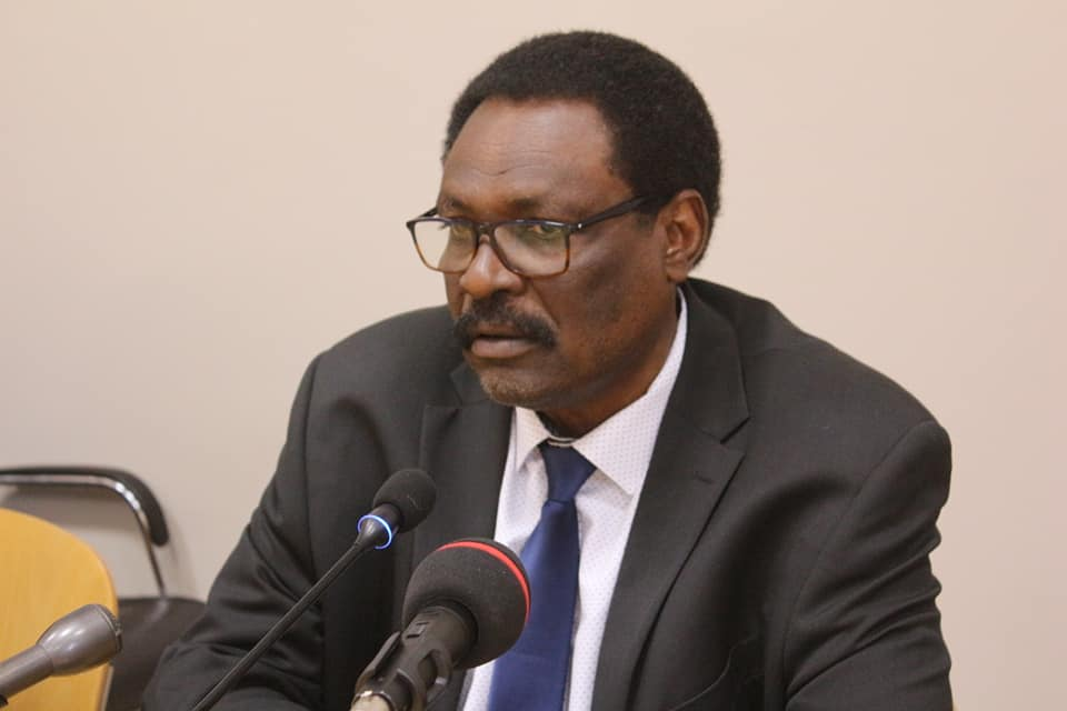 Le ministre de la Santé publique Mahamoud Youssouf Khayal, mercredi 23 janvier 2020. © DR/Hôpital de la Renaissance de N'Djamena