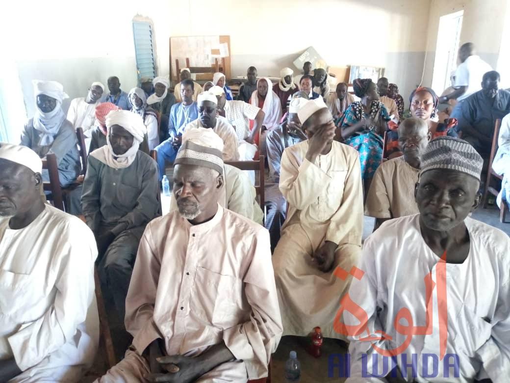 Tchad : mobilisation sociale contre la poliomyélite au Guéra. © Adam Issa Adam/Alwihda Info