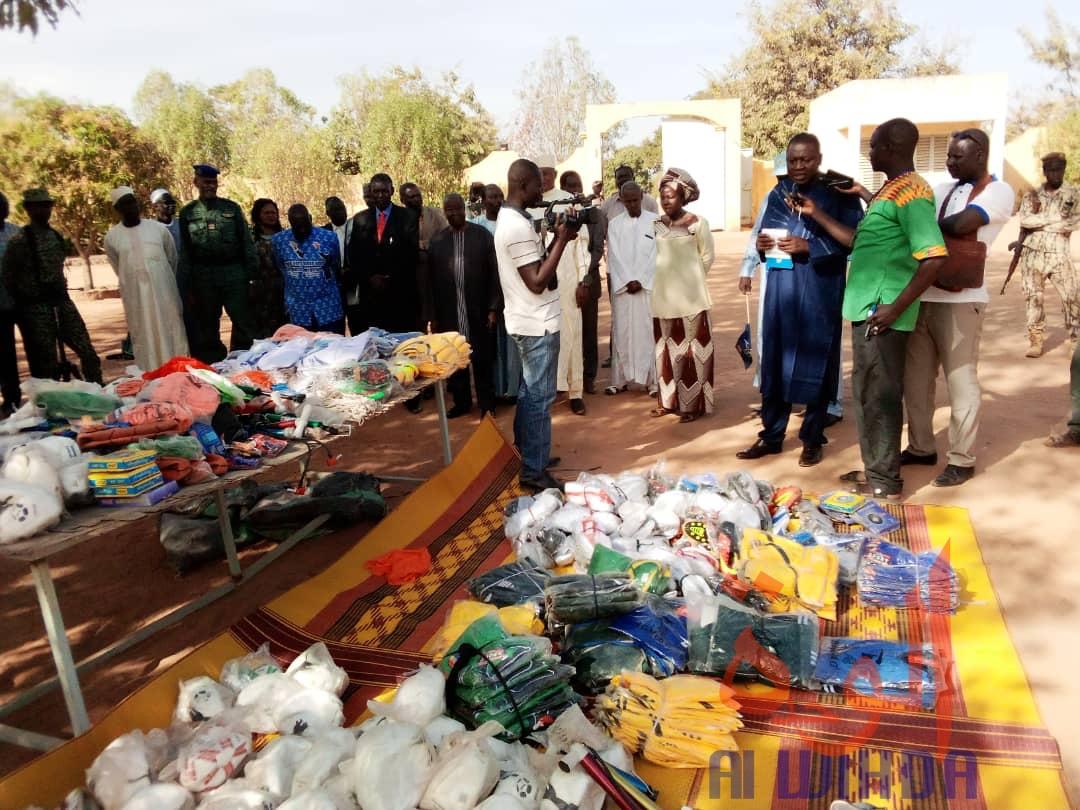 Tchad : des matériels et équipements sportifs offerts au Mayo Kebbi Ouest. © Foka Mapagne/Alwihda Info