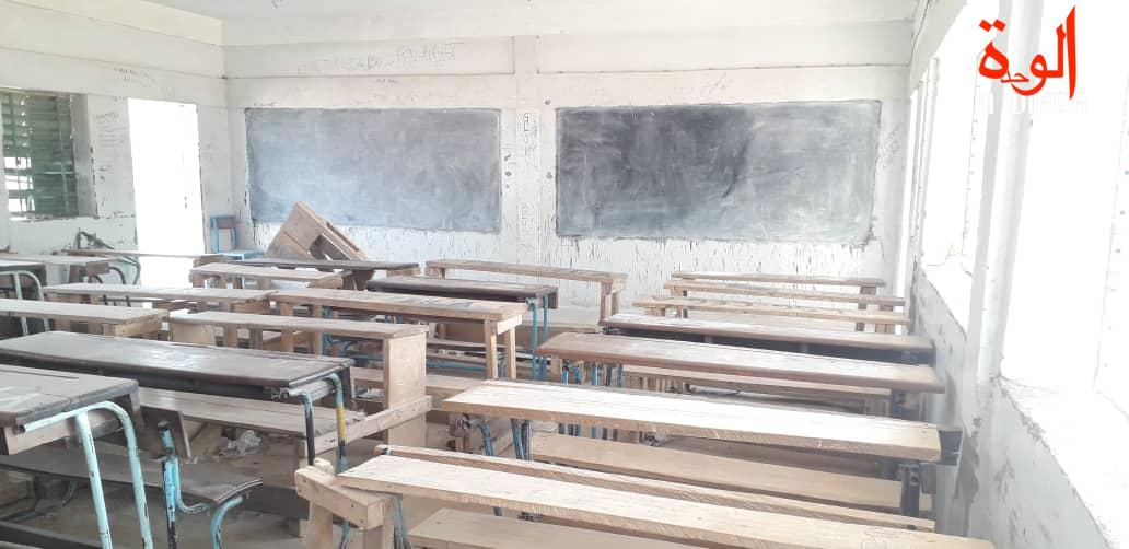 Une salle de classe à N'Djamena, au Tchad. Illustration. © Alwihda Info/Djibrine Haïdar