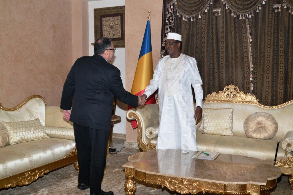 Tchad : le chef de l'Etat a reçu le vice-président de la Banque mondiale pour l'Afrique