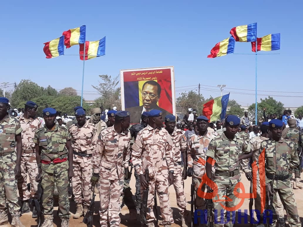Tchad : le général de division Ousmane Bahr fait le bilan de 5 mois d'état d'urgence. © Abba Issa/Alwihda Info