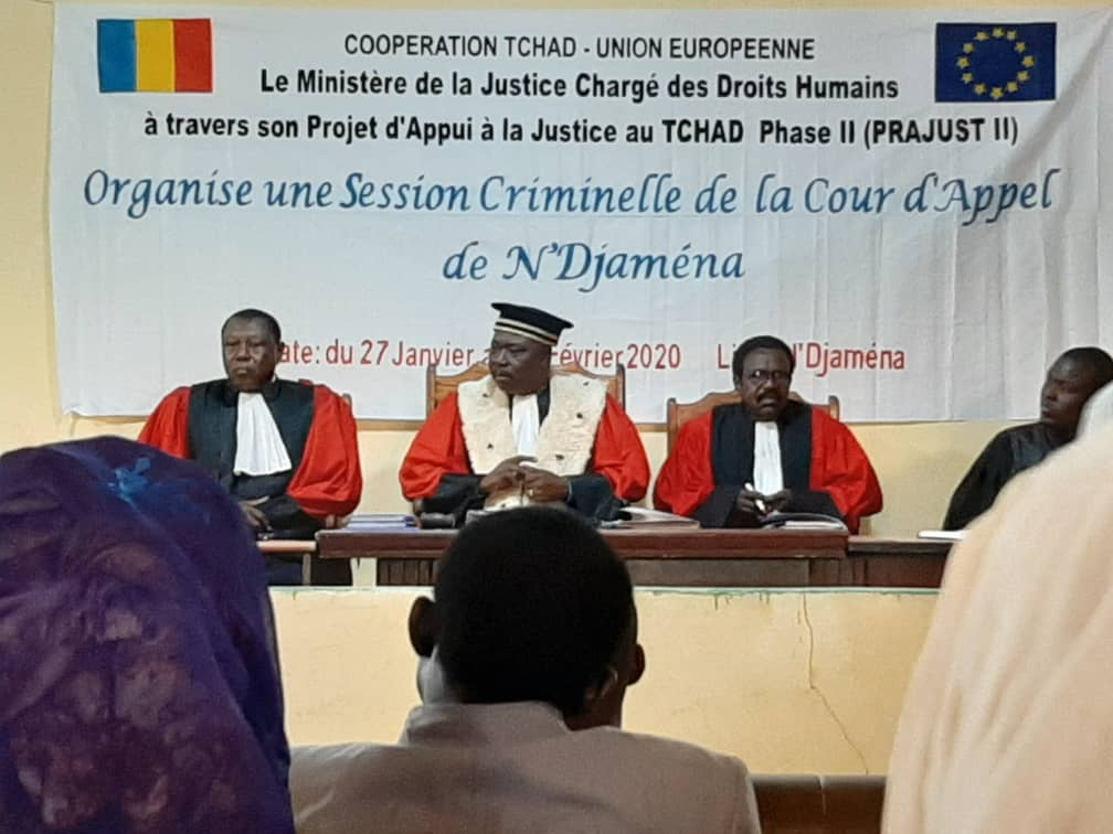 Tchad : ouverture de la session criminelle de la Cour d'appel de N'Djamena. © Adam Ibrahim/Alwihda Info