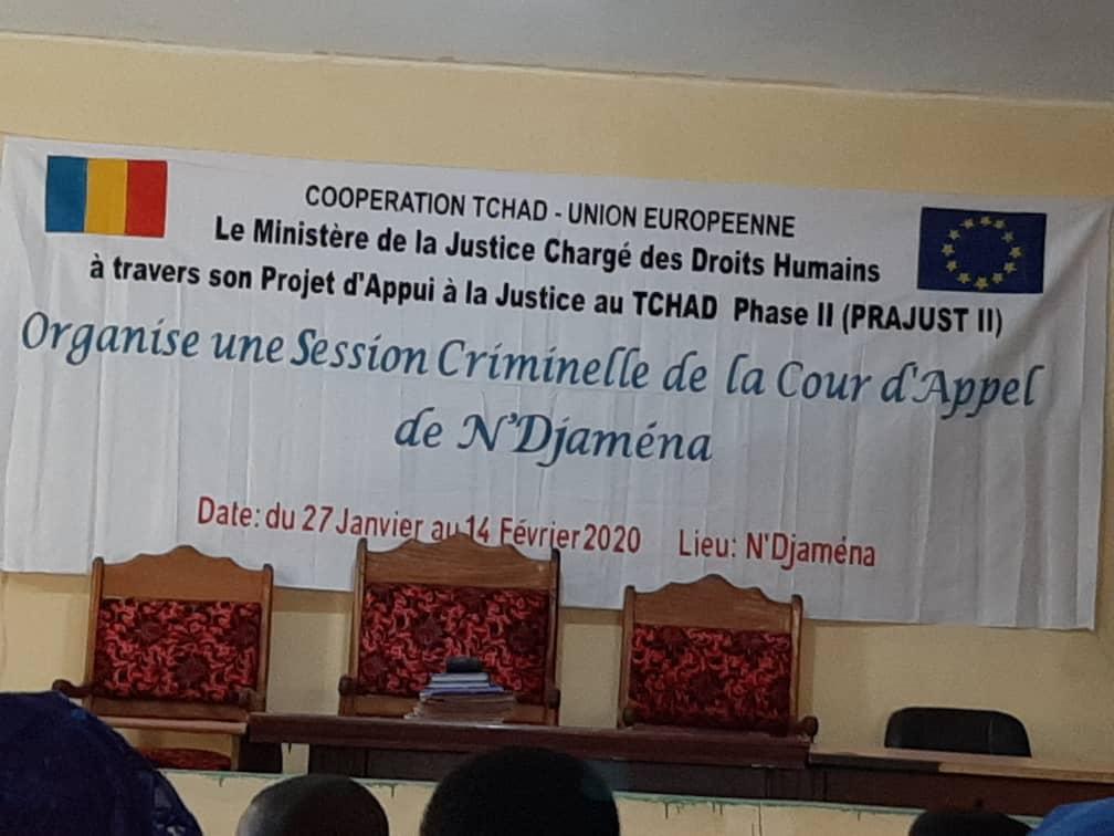 Tchad : plus de 70 dossiers examinés pour la session criminelle de N'Djamena. © Adam Ibrahim/Alwihda Info