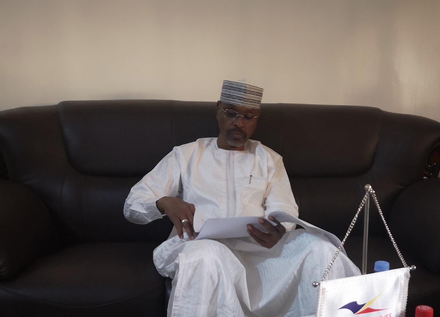 Tchad : suspension de délégation à la FTA, le ministre des sports s'explique. © DR