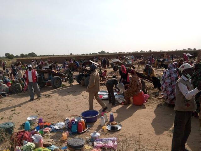 Tchad : des civils affluent à l'Est après les violences à El Geineina, au Soudan. © DR