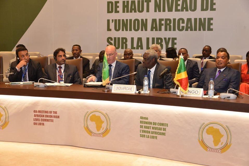 Le comité de haut niveau de l'UA sur la Libye (photo d'archives)