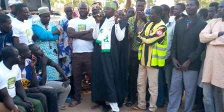 Campagne de proximité de la tête de liste Salassa Youssoufa Djitaou.