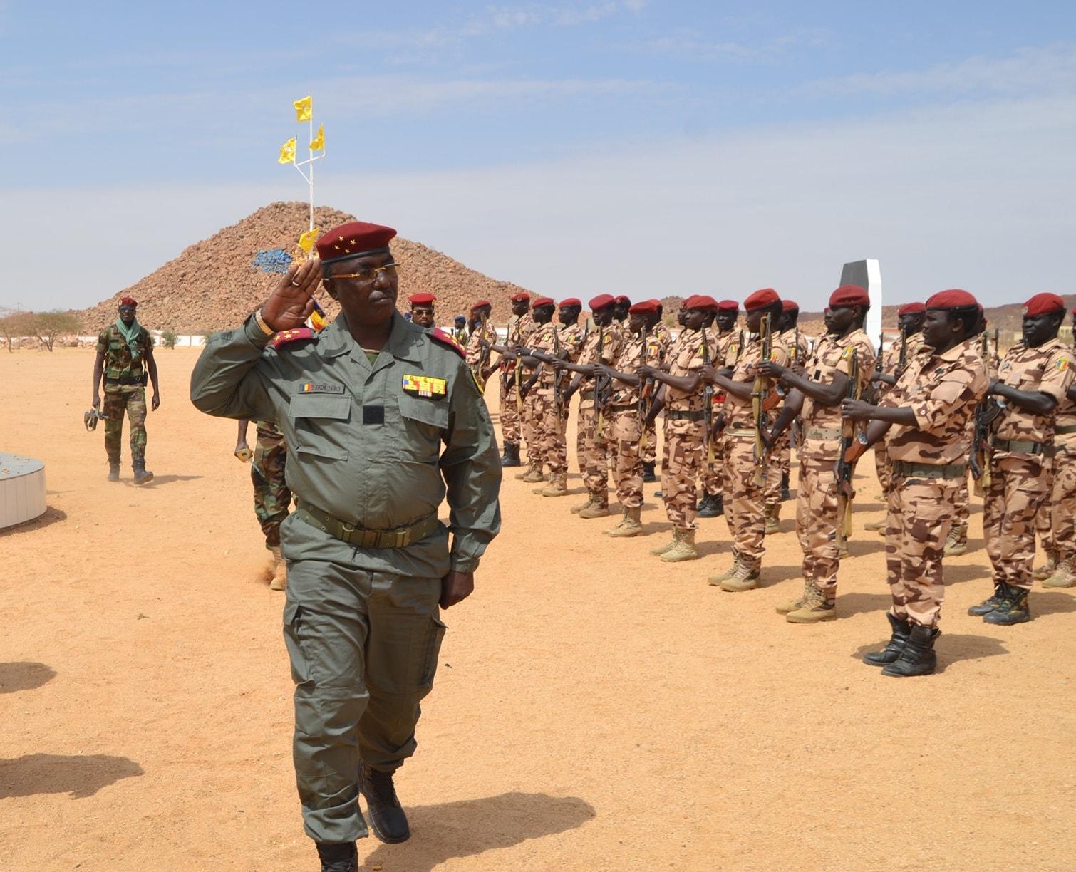 Tchad : le chef d'état-major général des armées, Tahir Erda remplacé. © DR