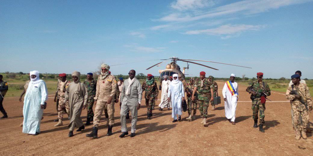 Tchad : deux ministres décorés par le chef de l'Etat. © DR/Min.Df