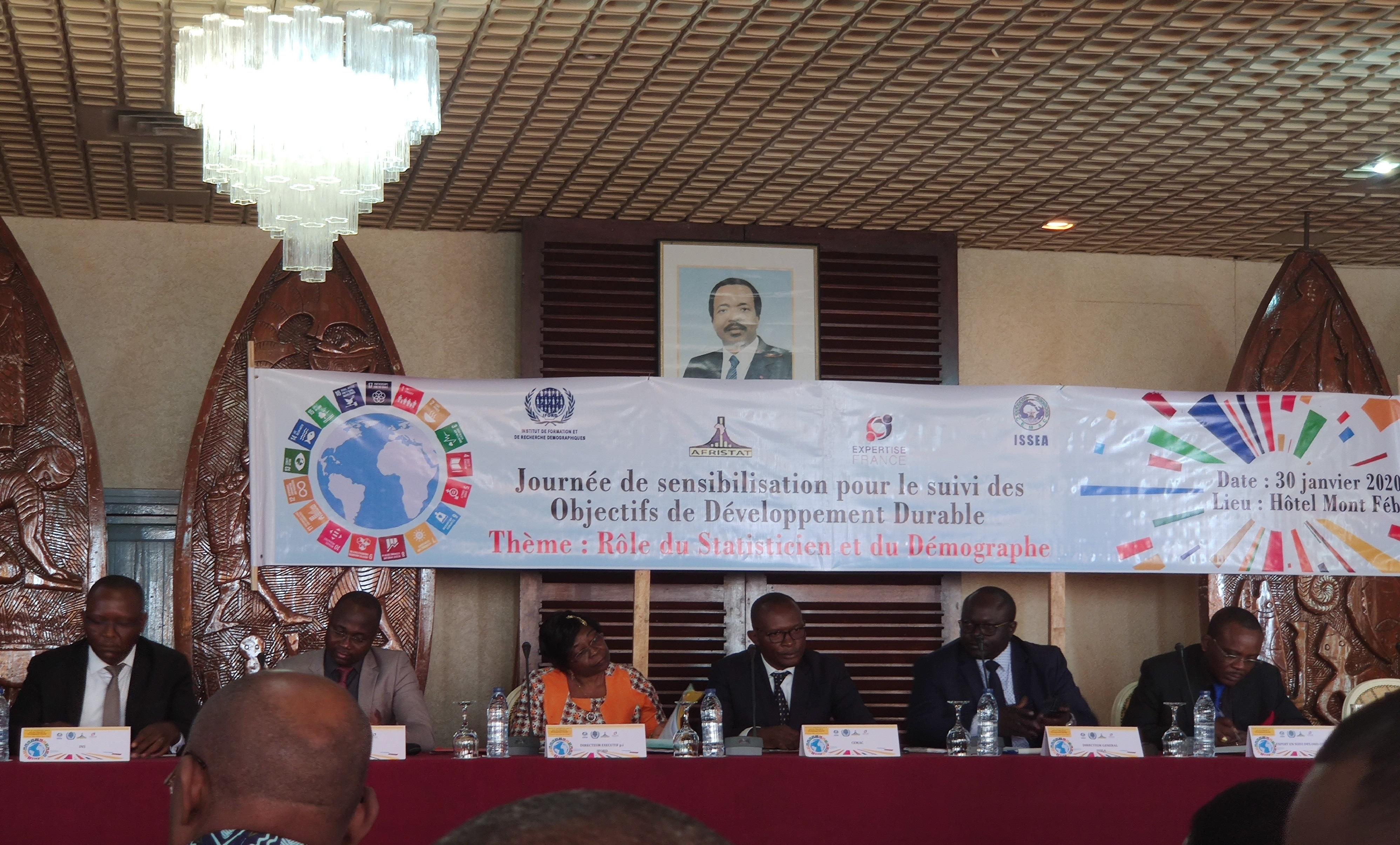 ODD en Afrique francophone : L'ISSEA au rendez-vous de la sensibilisation pour le suivi. © DR/ISSEA