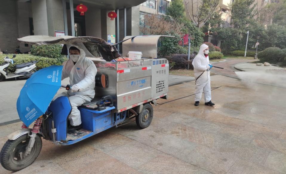 Wuhan takes efforts to combat novel coronavirus at community level
