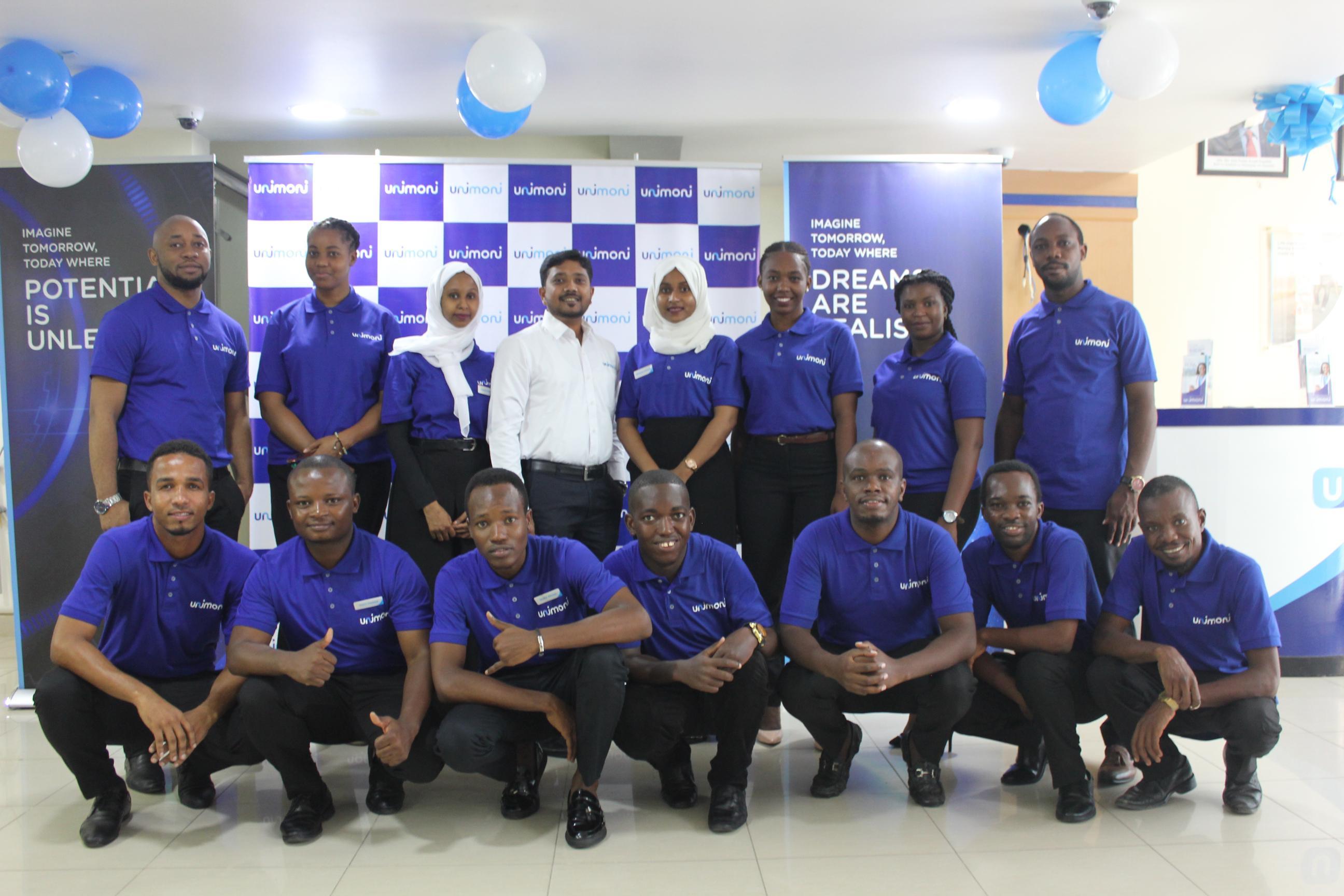 Unimoni Tanzania Team at the launch (Photo: AETOSWire)