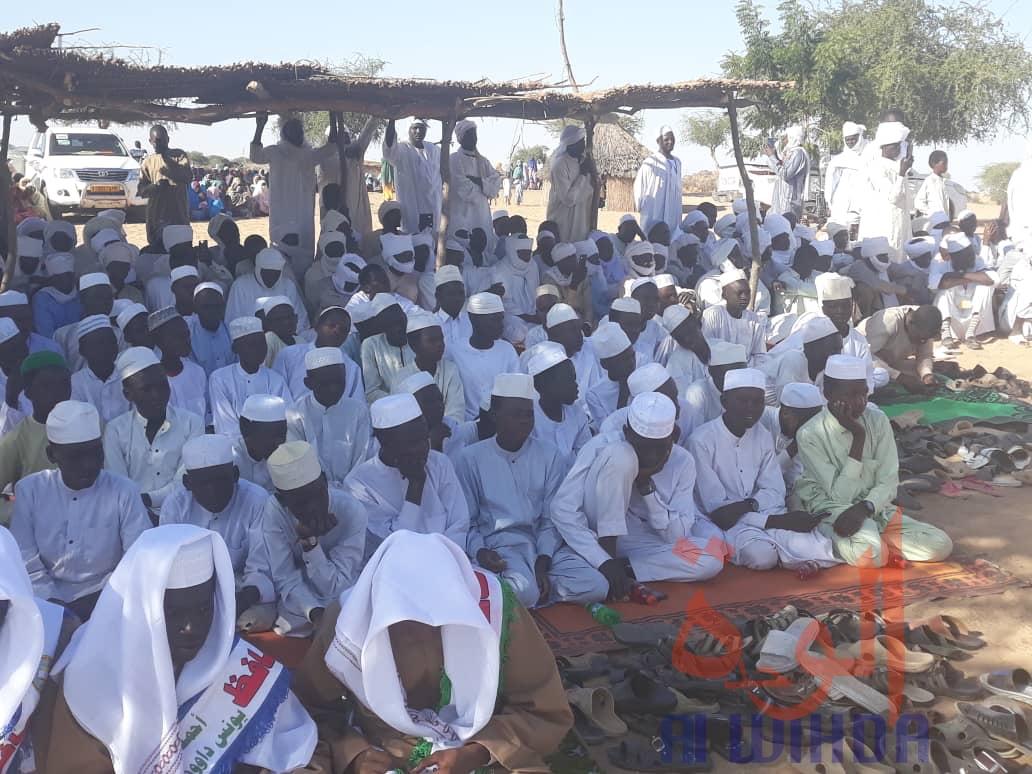 Tchad : mémorisation du Coran, la 1ère promotion du centre Khalid ibn al-Walid à l'honneur. © Alwihda Info