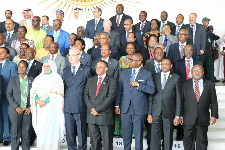 Le Tchad prend part au 36ème conseil ordinaire de l'UA. © DR/Tchad Diplomatie