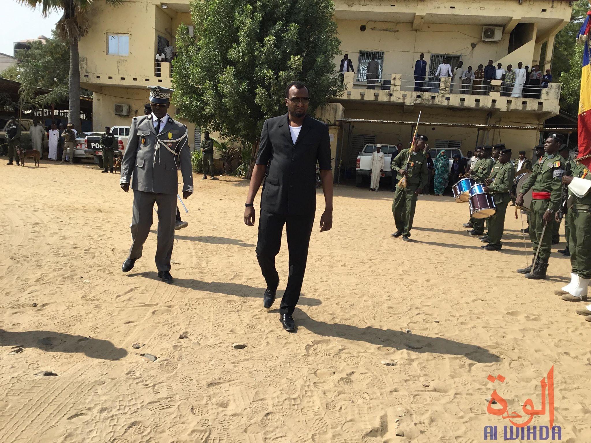 Le ministre en charge de la sécurité, général de corps d'armée Mahamat Abali Salah. © Djimet Wiche/Alwihda Info