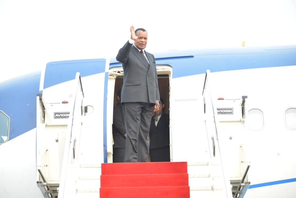Départ de Sassou N'Guesso pour Addis Abeba