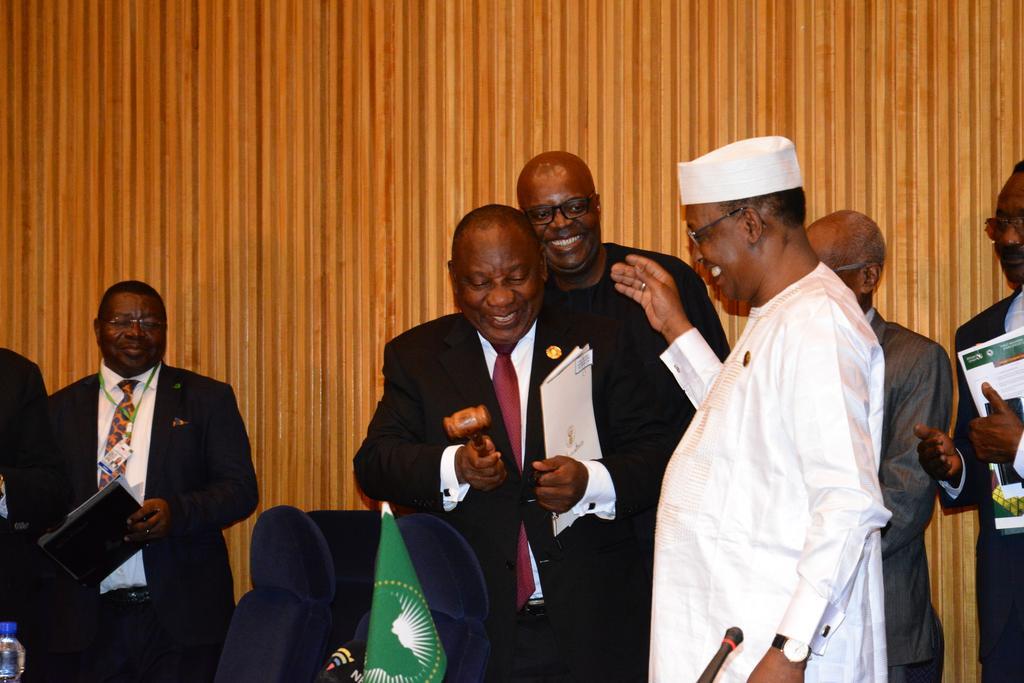 Présidence du MAEP : Idriss Déby passe le relai. © PR
