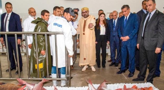Importants projets de développement lancés par le Roi du Maroc à Agadir. © DR