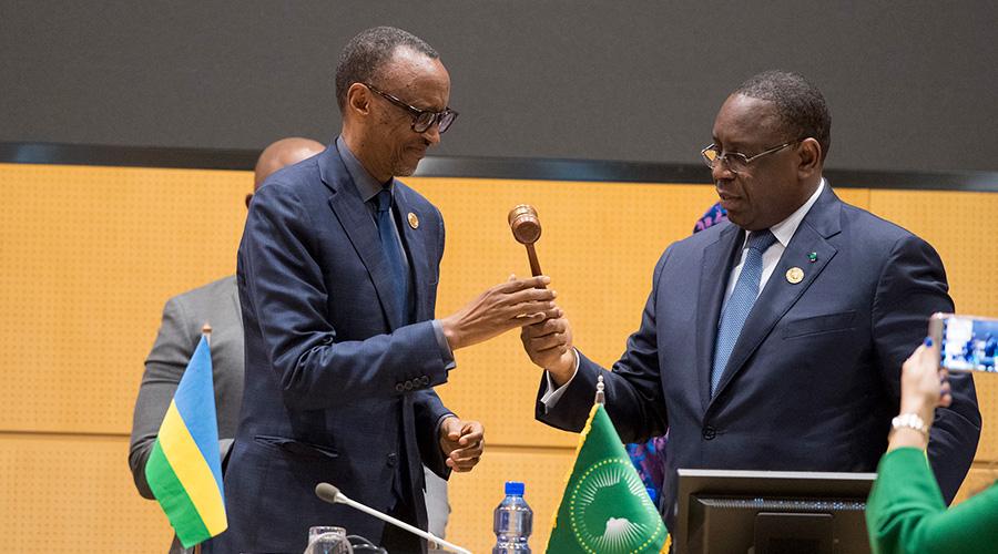 Paul Kagame prend la tête du Comité d'orientation des Chefs d'État et de Gouvernement du NEPAD. ©DR