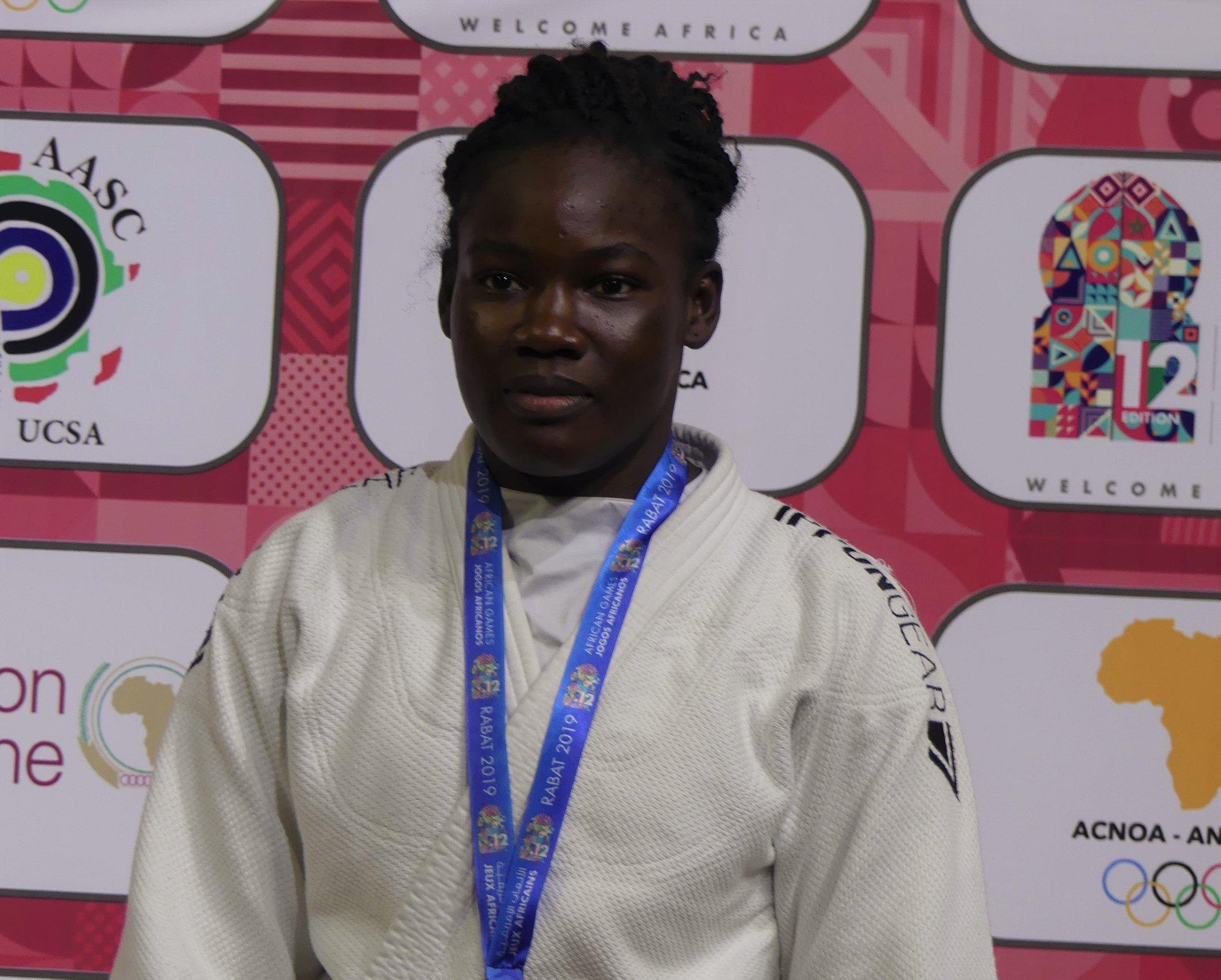 JO Tokyo 2020 : la judokate tchadienne Memneloum Demos qualifiée